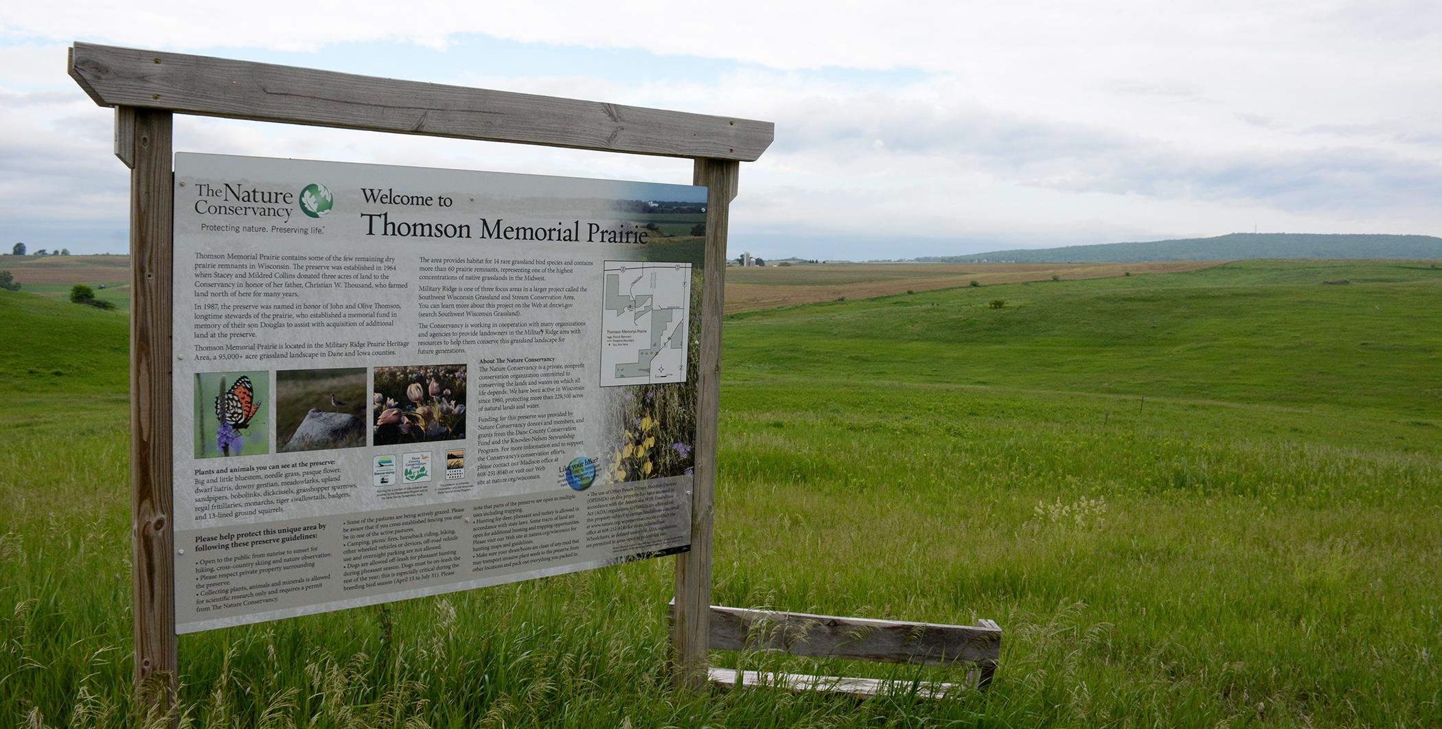 Thomson Memorial Prairie